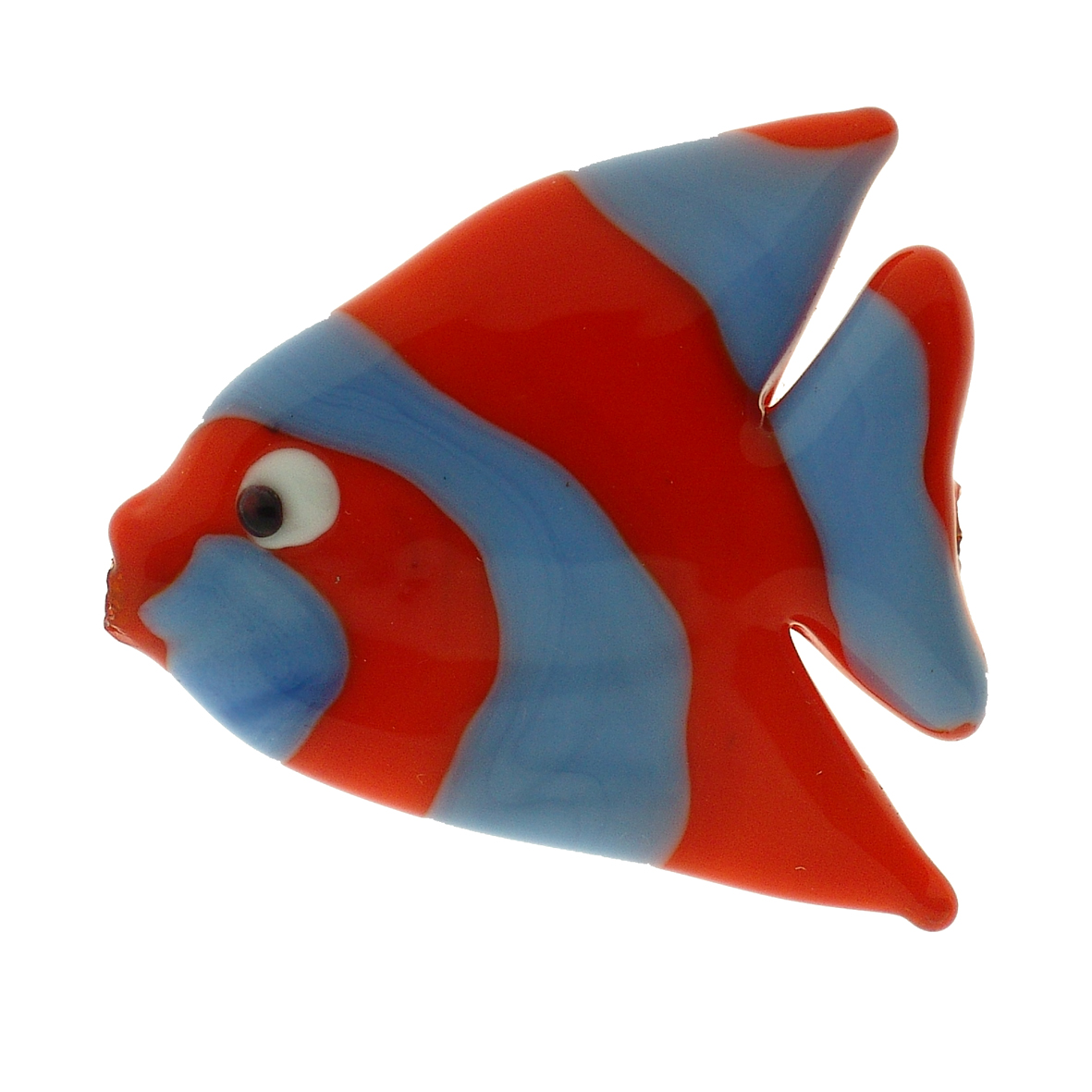 GLASS PENDANT – FISH-SHAPED – LAMPWORK – SHINE FINISH | Perle a Venezia